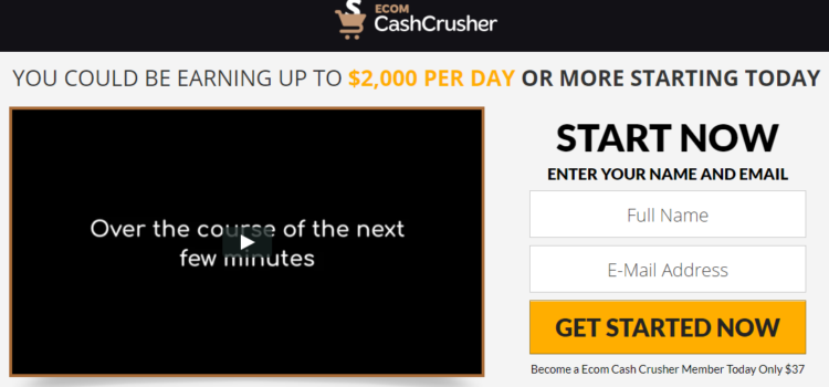ecom-cash-crusher-homepage