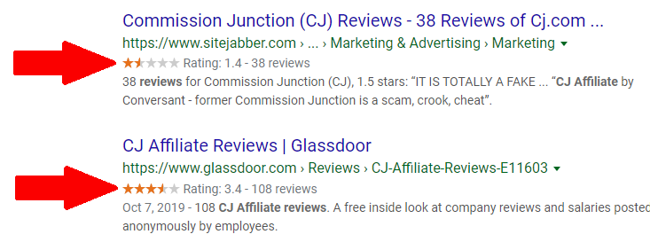 CJ Affiliate Reviews
